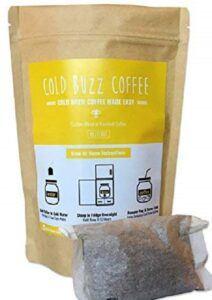 Hazelnut Cold Brew Coffee