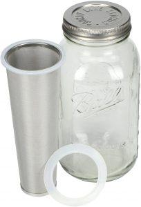 County Line Kitchen Durable Cold Brew Mason Jar Coffee Maker
