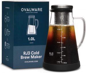 Ovalware RJ3 Airtight Cold Brew Coffee Maker