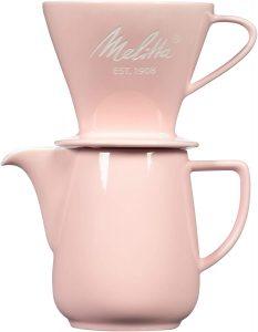 Melitta Porcelain Pour-Over Carafe Set