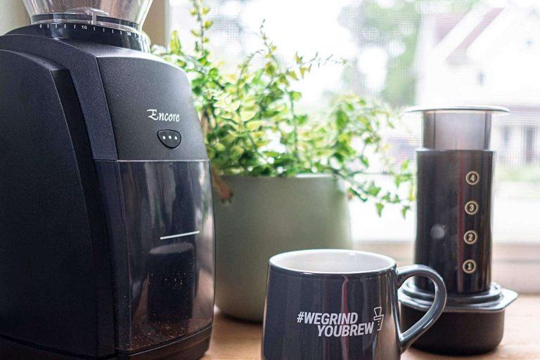 Baratza conical burr coffee grinder