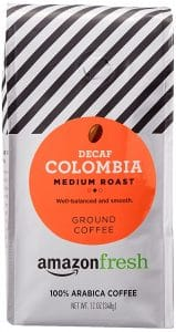 AmazonFresh Decaf Colombia Ground Coffee