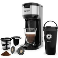 Single Serve K Cup Coffee Maker for K-Cup Pods And Ground Coffee